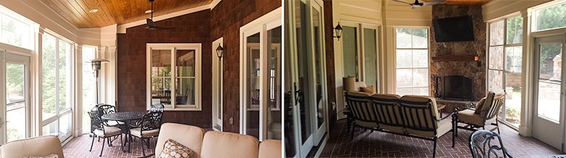 Charlotte, NC Area Screened Porch Contractor